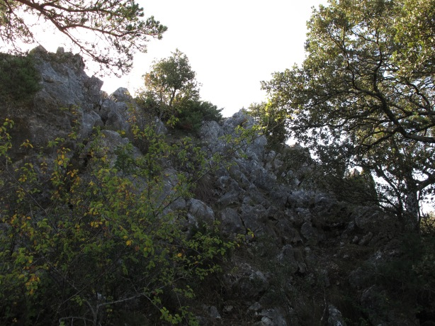 Llegando a la cima de Carabo.